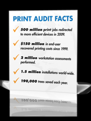 about print audit print audit s history established in 1999 and ...