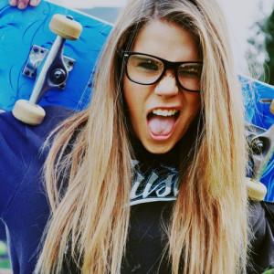 fashion, girl, glasses, skate, swag