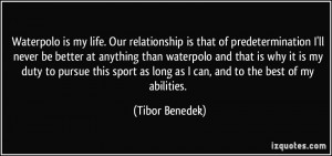 More Tibor Benedek Quotes
