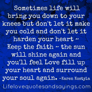 Home » Life » Feeling Down Quotes And Sayings » Quotes And Sayings ...