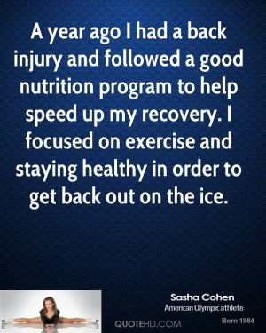 Quotes About Recovery From Injury