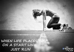 Motivational Running Quotes For Women Like. #women #womanwhocan