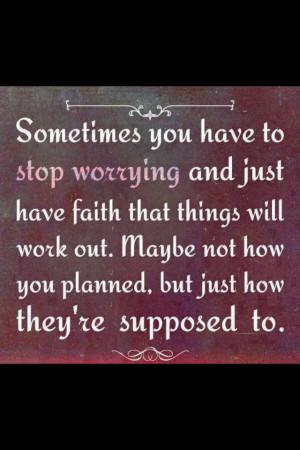 Have Faith!!