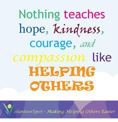 Volunteering Quotes Inspiration Volunteer quotes on pinterest