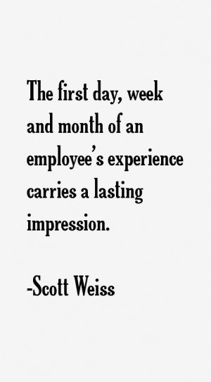 Return To All Scott Weiss Quotes