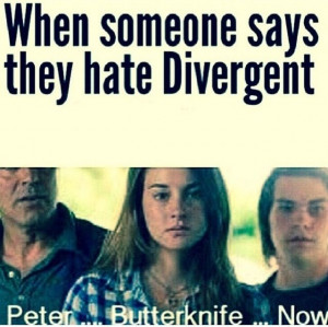 peter butterknife now the only time i would like peter divergent to be ...