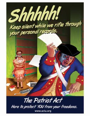 of patriot act patriot act violates fourth amendment patriot act ...