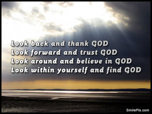 Look Back And Thank God