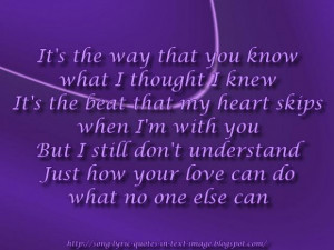 Beyonce love quotes from songs