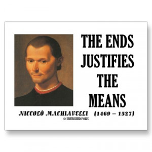 Niccolo Machiavelli: He Would Be Proud of the Republicans