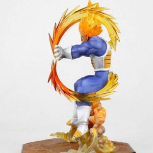 Dragon Ball Z Vegeta Final Flash Bandai Action Figure