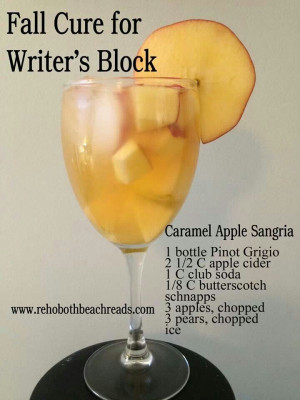 Caramel Apple SangriaCaramel Apple Sangria, Fall Drinks, Drinky Drinks ...
