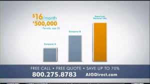 AIG Direct TV Spot, 'Quotes' - Screenshot 3