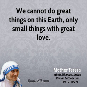 Mother Teresa Quotes Quotehd