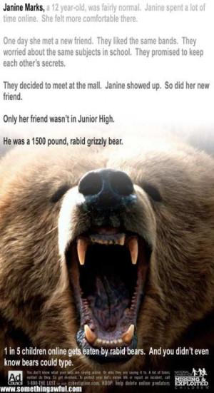 Bears Are Bad News