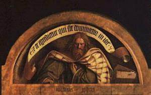 Micah- Jan Van Eyck- Ghent altar piece)