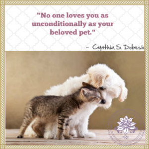 Animal Love Loss of Pet Quotes
