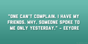 Eeyore Quote...