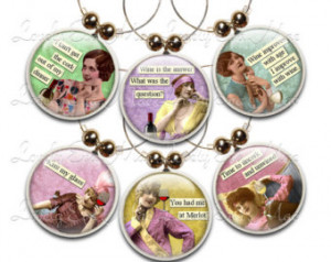 ... Funny Wine Charms, Sassy Women, Quotes, Wine Lover, Vintage Women