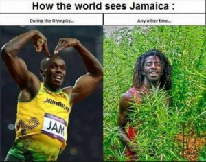 Funny How The World Sees Jamaica Picture | During the Olympics ... Any ...
