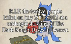 RIP dark knight rest in peace