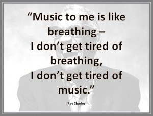 Ray Charles quote #1