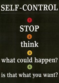 ... What could happen? 4. Is that what you want?