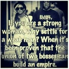 ... Beyonce and Jay-Z, but I mean, the quote is pretty spot on... More