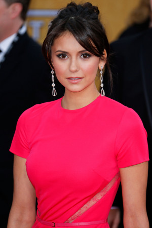 Nina Dobrev 's red-carpet style is a standout, but when we chatted ...