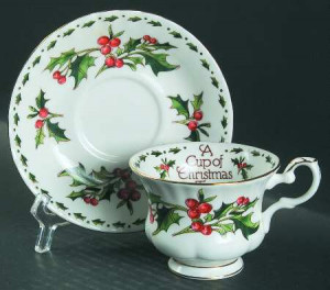 WALDMAN HOUSE PRESS A Cup of Christmas Tea STOCK