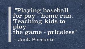 Playing Baseball For Play- Home Run. Teaching Kids To Play The Game ...