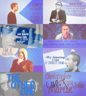 quote quotes edit Graphic mn chris martin ct Christopher Anthony John ...