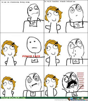Annoying Teacher Stands Behind Me