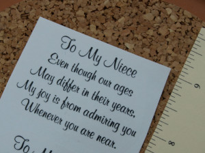 Go Back > Gallery For > I Love My Niece Sayings