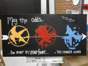 thehungergames #mockingjays #painting