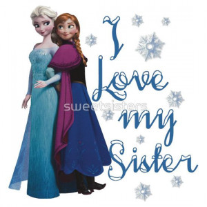 Frozen Tumblr Quotes Sisters Disney frozen elsa and anna i