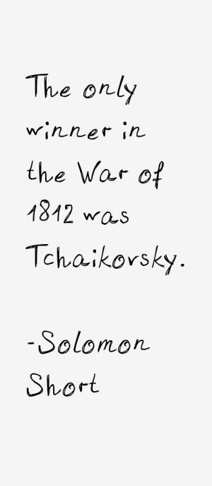 Solomon Short Quotes & Sayings