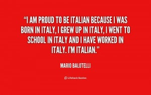 Quotes About Being Italian