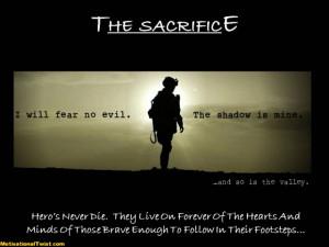 the-sacrifice-sacrifice-duty-honor-country-military-motivational ...