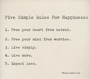 motivation monday rules for happiness