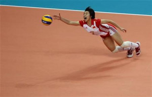 ... volleyball final at the 16th Asian Games in Guangzhou, Guangdong