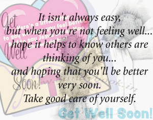 Get well soon quotes sms,messages for friend