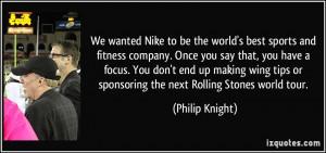 More Philip Knight Quotes