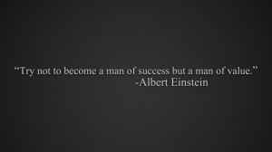 Albert Einstein motivational quote