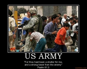 ... that American Soldiers go out of their way to kill innocent people