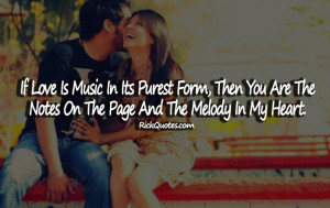 Love Quotes | Love Is Music Love Quotes | Love Is Music
