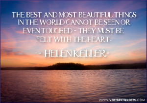 Helen Keller Quotes Life The Day Quote
