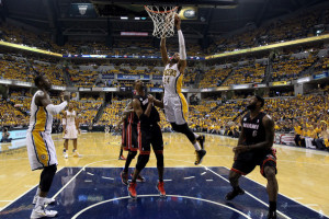 Paul George and the Indiana Pacers have emerged as the top threat to ...