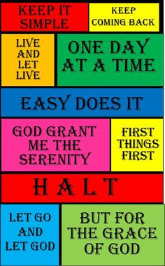 My Al Anon -Slogans, Prayers, Tools