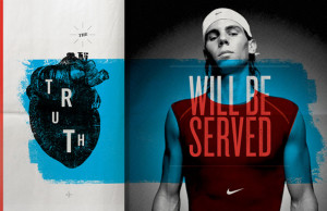 Nike Tennis pitch work. These are all Australian Open concepts.